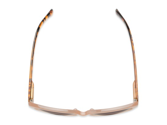 Overhead of The Beachy Bifocal Reading Sunglasses  in Tan/Tortoise with Smoke