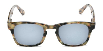 Front of The Beacon Reading Sunglasses in Brown Tortoise with Smoke