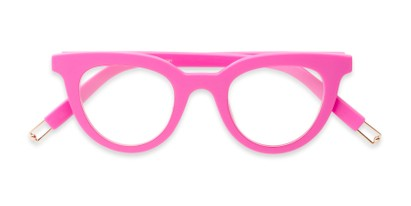 bright trendy ladies cat eye reader