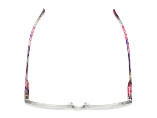 Overhead of The Bixie  in Clear/Floral