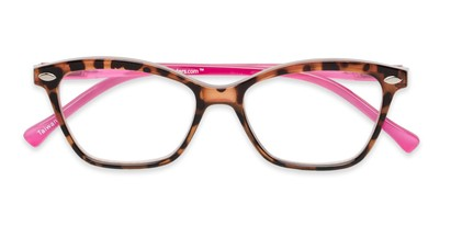 Folded of The Blush in Tortoise/Pink