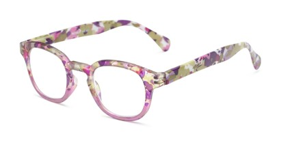 colorful floral print readers