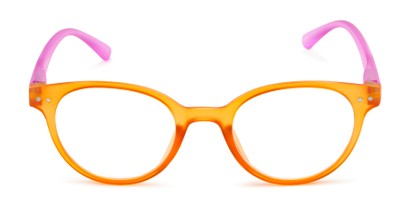 living coral reading glasses