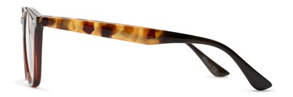 Side of The Calloway in Dark Brown/Tortoise