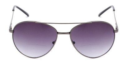 metal frame aviator sun reader