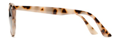 Side of The Chambray Bifocal Reading Sunglasses in Tan Tortoise with Smoke