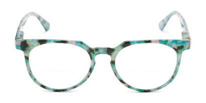 Front of The Chapter Bifocal in Blue Tortoise