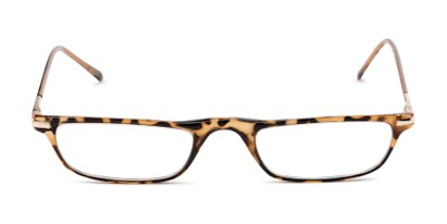 Front of The Charm in Tan Tortoise