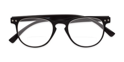 Folded of The Chatham Flexible Bifocal in Black
