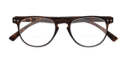 Folded of The Chatham Flexible Bifocal in Dark Tortoise