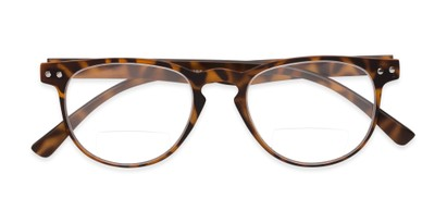 Folded of The Chatham Flexible Bifocal in Light Tortoise