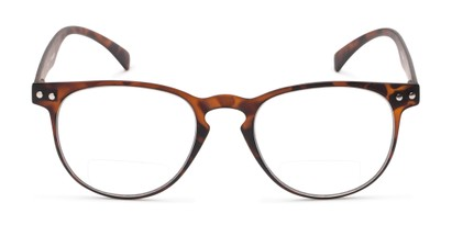 Front of The Chatham Flexible Bifocal in Dark Tortoise