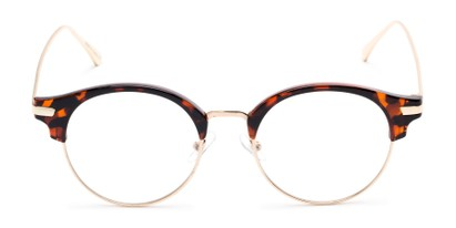 Front of The Chester in Tortoise/Gold