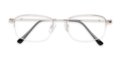 Semi-Rimless Reading Glasses