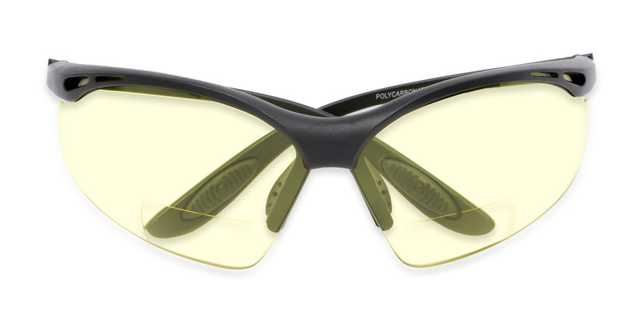 b135216fdfdf7 Yellow Safety Bifocals with ANSI Z87.1 Safety Lenses