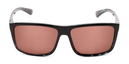 Front of The Clifton Reading Sunglasses in Black/Blue Tortoise with Amber