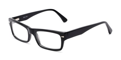 Angle of Columbia by felix + iris in Black, Women's and Men's Rectangle Reading Glasses