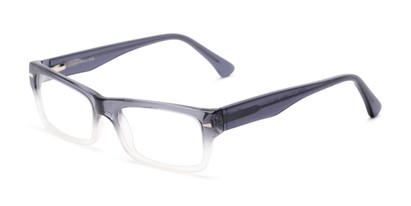 Angle of Columbia by felix + iris in Grey Fade, Women's and Men's Rectangle Reading Glasses