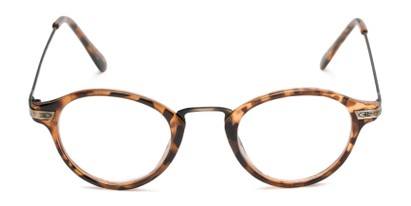 Front of The Daffron in Tortoise with Gold
