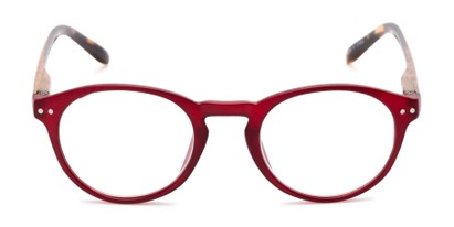 Front of The Dandelion in Matte Red/Tortoise