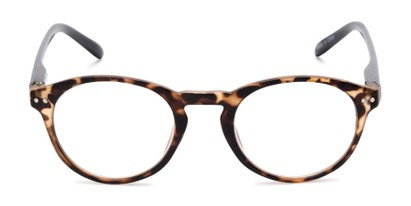 Front of The Dandelion in Matte Tortoise/Black