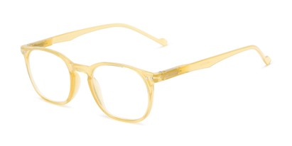 Angle of The Darling in Yellow, Women's Retro Square Reading Glasses