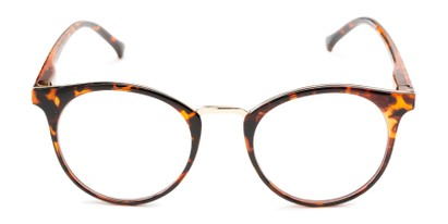Front of The Dewey in Tortoise/Gold