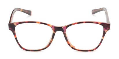 Front of The Esme Customizable Reader in Pink Tortoise