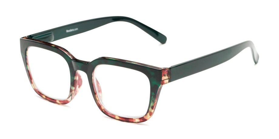 ceff873741 Chunky Retro Reading Glasses with Anti-Scratch Lenses