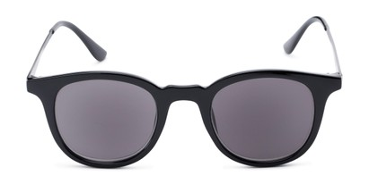 Front of The Easterday Reading Sunglasses in Black/Grey with Smoke