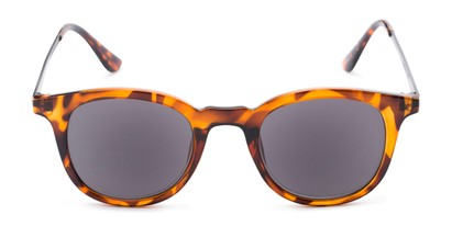 Front of The Easterday Reading Sunglasses in Tortoise/Grey with Smoke