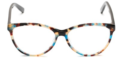 Front of The Eden Signature Reader in Blue Tortoise/Black