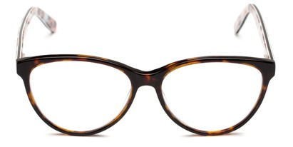 Front of The Eden Signature Reader in Brown/Pink Tortoise