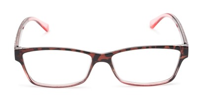 Front of The Edlund in Tortoise/Pink Fade