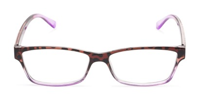 Front of The Edlund in Tortoise/Purple Fade