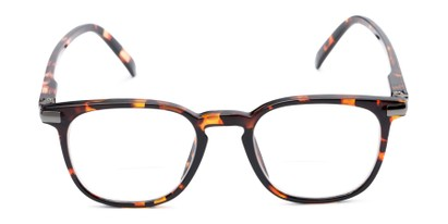 Front of The Eggers Bifocal in Brown Tortoise