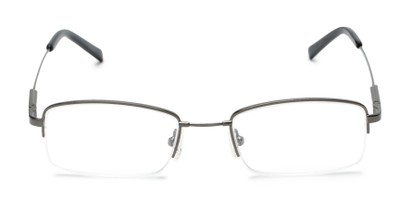 semi rimless metal unisex readers