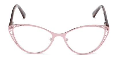 Front of The Electra in Pink/Pink Tortoise
