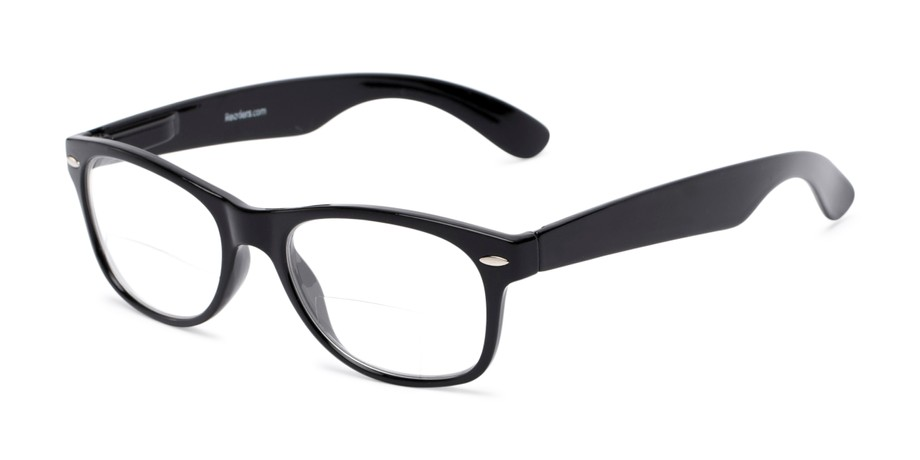 8eb38a52bb9a Retro Square Lightweight Plastic Bifocal Readers | Readers.com™