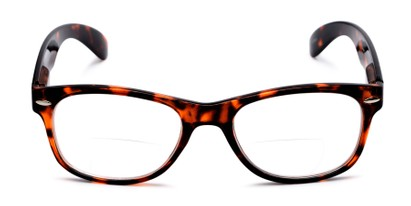 Front of The Elwood Bifocal in Brown Tortoise