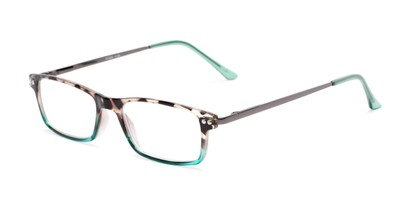marbled rectangular reading glasses