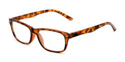 Angle of The Emery Bifocal  in Tortoise, Women's and Men's Rectangle Reading Glasses