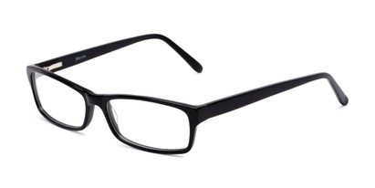 Angle of Bond by felix + iris in Black, Men's Rectangle Reading Glasses