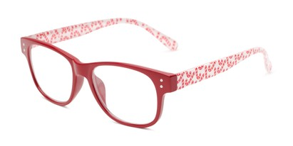 Angle of The Festive in Red Candy Canes, Women's and Men's