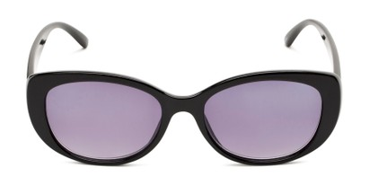 Front of The Firefly Reading Sunglasses in Black with Smoke