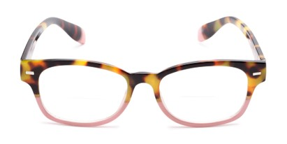 Front of The Florian Bifocal in Tortoise/Pink