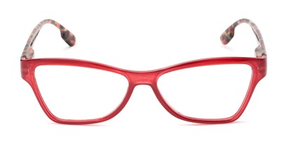 Front of The Fringe in Red/Tortoise