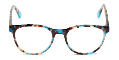 Blue Round Acetate Premium Reader