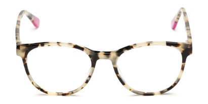 Front of The Getty Signature Reader in Pink/Tan Tortoise