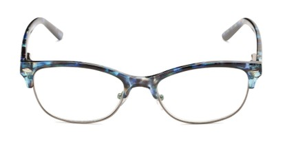 Front of The Gillian - Foster Grant for Readers.com in Blue Tortoise
